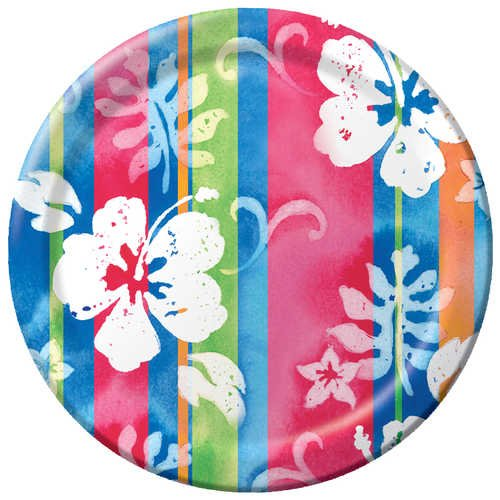 Creative Converting 8 Count Paper Dinner Plates, (Shirt Shaped Dinner Plates)
