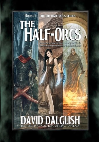 The Half-Orcs: Books 1-5 (Red Orc)