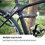 HiHiLL-Bicycle-Lock-Bike-Lock-Bicycle-Lock-with-5-Digit-Code-Waterproof-Portable-4-Feet-x-12-Inch-for-Bicycle-Tricycle-Scooter-Black