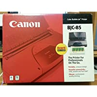 Canon BJC-85 Portable Color Bubble Jet Printer