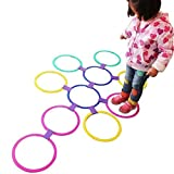 Portable Playing Hopscotch Kids Jump into the Grid Outdoor Games Children Sensory Integration Training Sport Toy