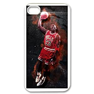 iphone4 4s White Michael Jordan phone cases protectivefashion cell phone cases HYQT5833252
