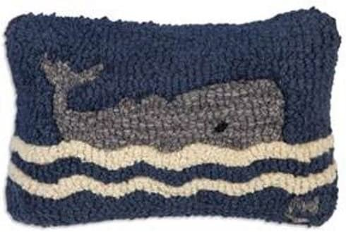 Chandler 4 Corners Wavy Whale 8 x12 Pillow