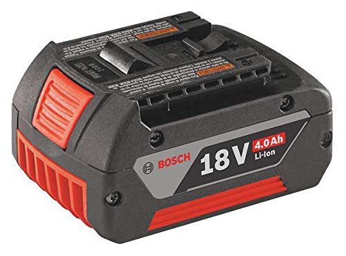 Cordless Tool Battery, 18V, Li-Ion, 4.0Ah by Bosch