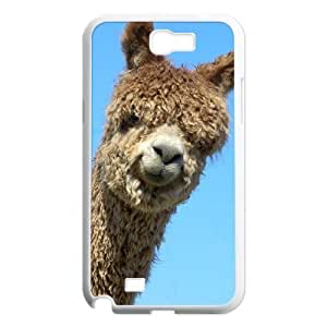 Alpaca Unique Design Cover Case with Hard Shell Protection for Samsung Galaxy Note 2 N7100 Case lxa#920223