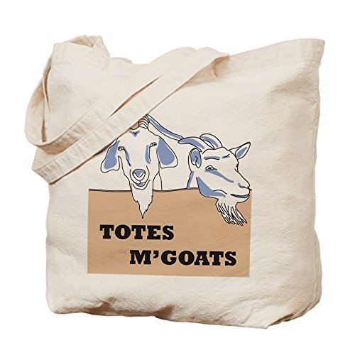CafePress Mgoats Natural Canvas Shopping