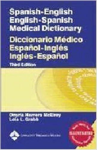 spanish english english spanish medical dictionary diccionario