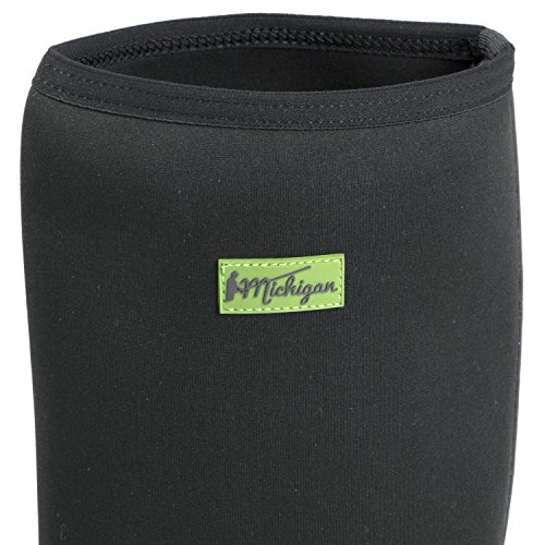 Michigan pescatore da neoprene Nero impermeabili in stivali wellington 42 EU wxwrqTC