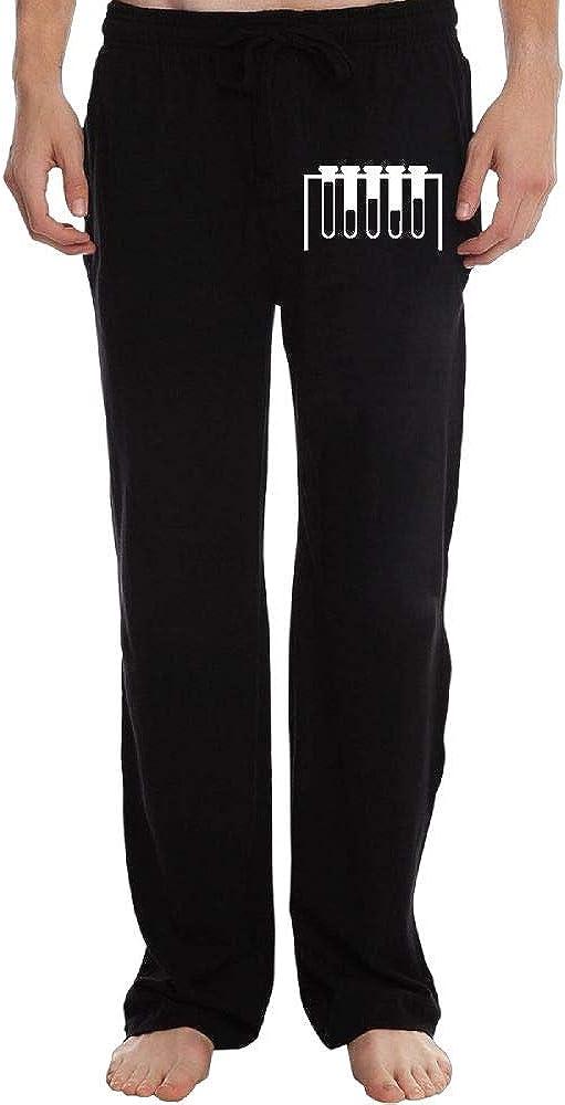 Elastic Chemical1 100/% Cotton Sports Pants PT25dw-2 Long Sweatpants for Men