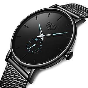 Watch Men Sport Quartz Clock Mens Leather Dress Watches Top Brand Luxury Business Waterproof Wristwatch Black … … … … … 27