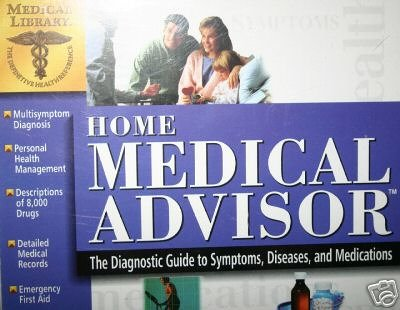 Home Medical Advisor (PC CD Jewel Cased) (Home Health Software compare prices)