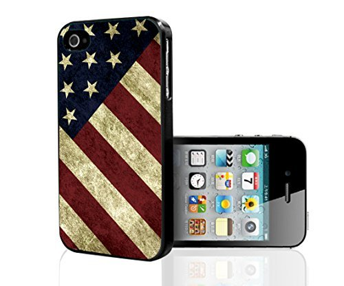 Fun American Flag Design Hard Snap on Phone Case (iPhone 5/5s)