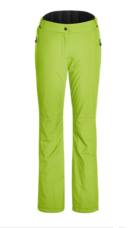 Lime green 36 (EU) maier sports Vroni Slim Men's Ski Trousers, Men, 200001