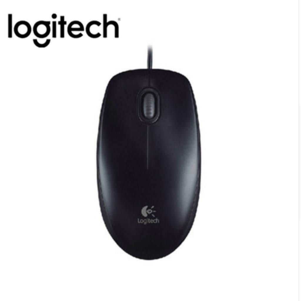 Dkings Logitech M100R 1000DPI USB Wired Optical Mouse Ergonomic Office Portable Mice