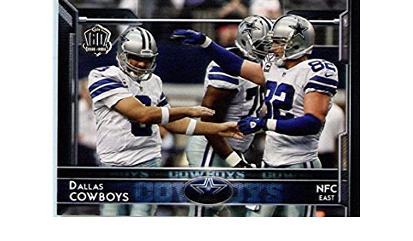 Amazon.com  2015 Topps  279 Tony Romo   Jason Witten - Dallas Cowboys (Team  Card) NFL Football Card (60th Anniversary LOGO Special Edition)   Collectibles ... 940b2aca5