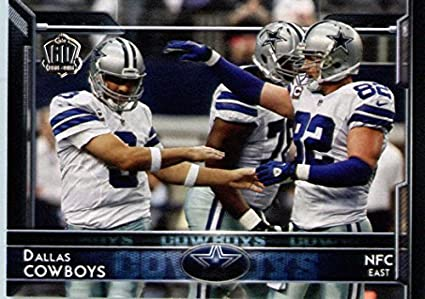 2015 Topps  279 Tony Romo   Jason Witten - Dallas Cowboys (Team Card) d96066172