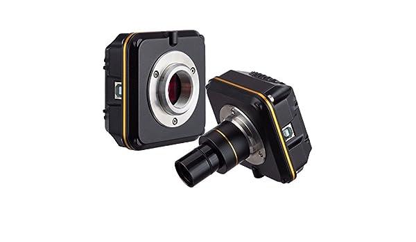 AmScope – mu1400b 14 MP cámara digital de alta velocidad: Amazon ...