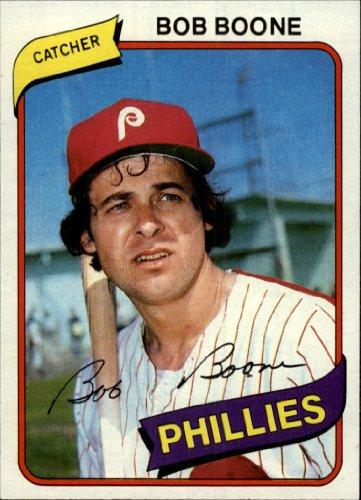 1980 Topps Baseball Card #470 Bob Boone Mint