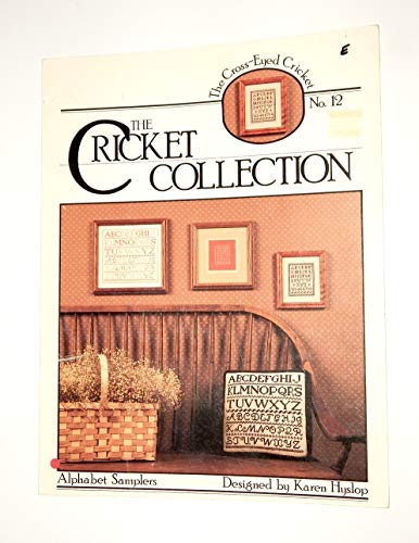Alphabet Samplers - 3 Cross Stitch Charts (The Cricket Collection, No. 12)