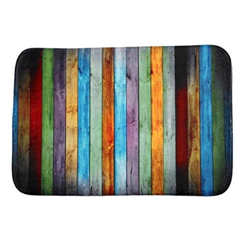 Buy cheap hot sale colorful wooden franterd home life decor doormat entrance mat floor rug indoor outdoor