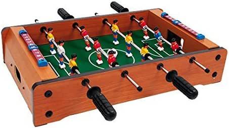GARGOLA.ES OPERADORES DIGITALES Mini futbolín. Medida 50x52x9 cm- Mesa de Futbol- Especial Regalo de cumpleaños: Amazon.es: Juguetes y juegos