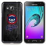 For Samsung Galaxy J3 - Baseball Cub Team Case Cover Protection Design Ultra Slim Snap on Hard Plastic - God Garden -