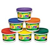 glass dough bucket - Crayola - Modeling Dough Bucket, 3 lbs., Assorted, 6 Buckets/Set 57-0016 (DMi ST