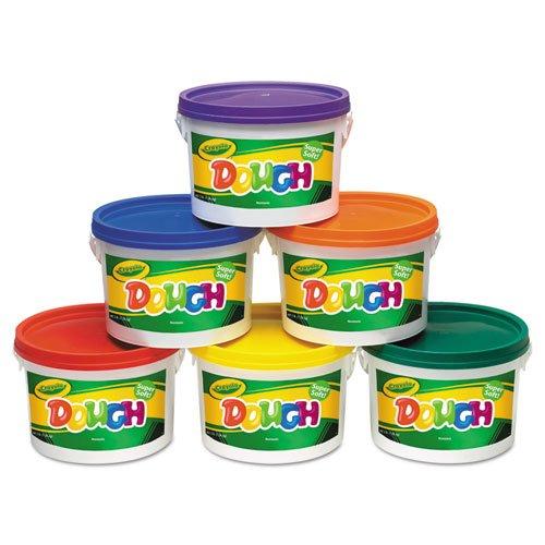 crayola-modeling-dough-bucket-3-lbs-assorted-6-buckets-set-57-0016-dmi-st