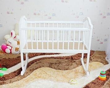 Wiege massivholz babybett kinderbett babywiege schaukelwiege