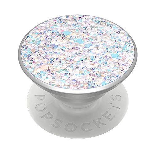 PopSockets PopGrip: Swappable Grip for Phones & Tablets - Sparkle Snow White