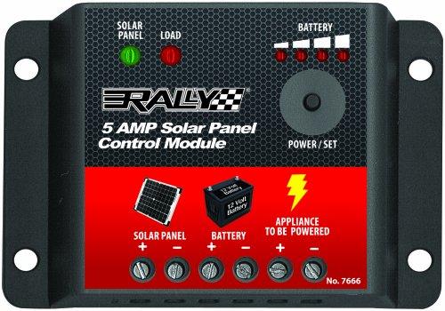 Rally 5 Amp Solar Panel Control Module (Solar Control Unit)