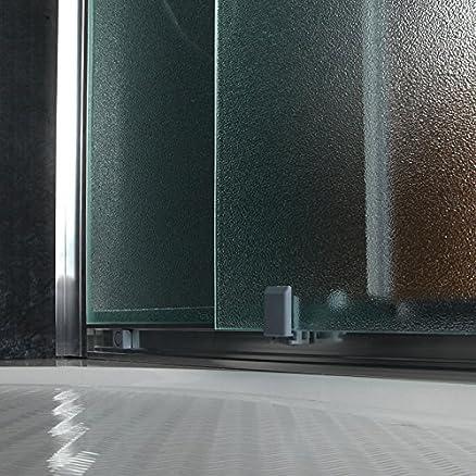 box doccia semicircolare giada 90x90 cm cristallo opaco 6 mm ... - Box Doccia Cristallo Cesana Prezzi