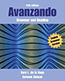 Avanzando : Grammar and Reading, Salazar, Carmen and Vega, Sara Lequerica De La, 0471456381