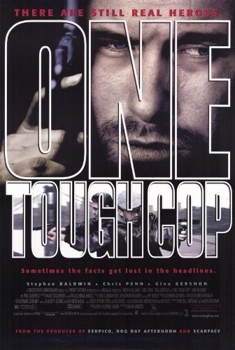 One Tough Cop Movie Poster 1998 - Stephen Baldwin Gina Gershon Christopher Penn Mike