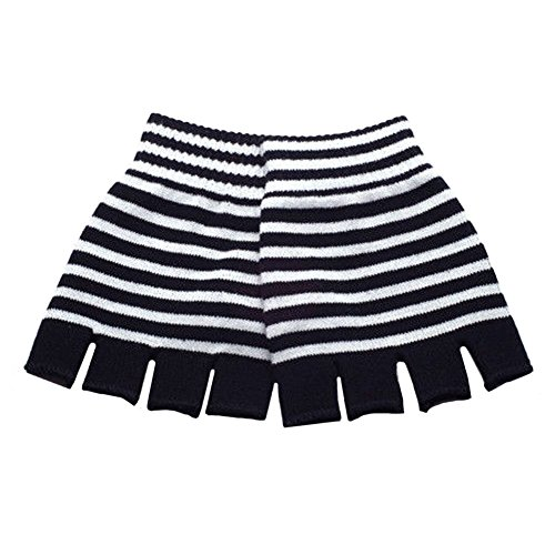 Leema Black White Striped...