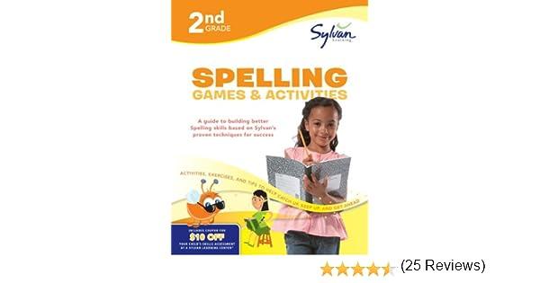 Second Grade Spelling Games & Activities (Sylvan Workbooks ...
