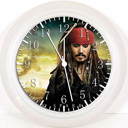 """New Pirates of the Caribbean Wall Clock 10"""" Will Be Nice Gif"""