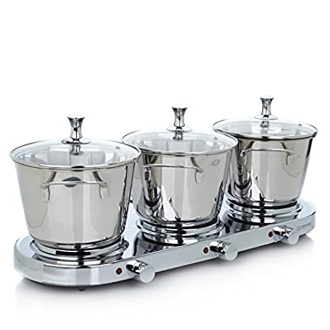 Amazon.com: Infusión Collection 8-Piece inoxidable Triple ...