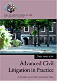 Advanced Civil Litigation (Professional Negligence) in Practice, Inns of Court School of Law, 0199284911
