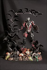 1998 Spawn Action Figure - Special Edition Spiked Spawn in Tank Display Case