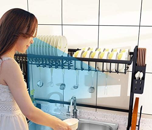 HUOLEO Escalable Estante para Platos, Rejilla De Drenaje Fregadero Soporte Acero Inoxidable Multiusos Tendedero Escurridor por Cocina-Rejilla para Fregadero retráctil58-93cm: Amazon.es: Hogar