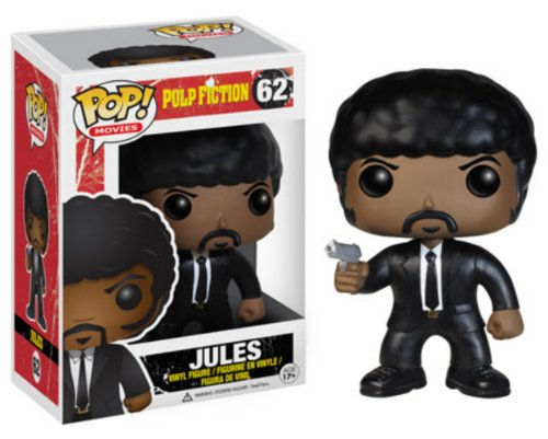Funko POP Movies Pulp Fiction Jules Winnfield Vinyl Figure