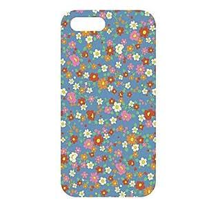 Flores silvestres Patrón Pequeño caso duro para el iPhone 5/5S