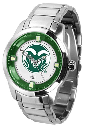 Colorado State Titan Steel Mens Watch by SunTime