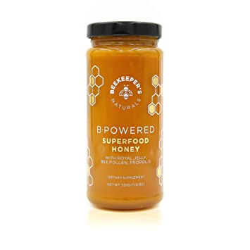 Bee Powered by Beekeeper's Naturals | Royal Jelly, Bee Pollen, Bee Propolis  in Raw Unfiltered