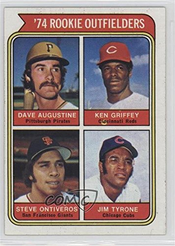 Dave Augustine; Ken Griffey; Steve Ontiveros; Jim Tyrone (Baseball Card) 1974 Topps - [Base] #598
