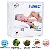 Everest Supply Premium Mattress Encasement 100% Waterproof Bed Bug Proof Hypoallergenic Protector Six Sided Cover Machine Washable Twin 39x75+9 (fits 9-11) depth