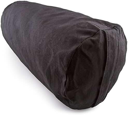 Peace Yoga® Zafu Meditation Yoga Cotton Cylinder Bolster Pillow Cushion - Choose your Color