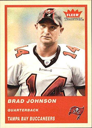 2004 Fleer Tradition #62 Brad Johnson NFL Football Trading Card from Fleer Tradition