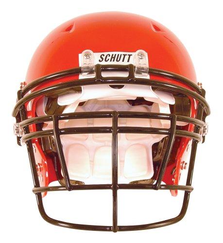 (Schutt Sports DNA RJOP DW Carbon Steel Varsity Football Faceguard, Burnt Orange,)